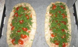 Пирог с копчёным лососем