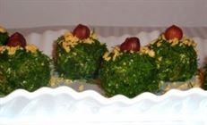 """Закуска сырная """"зелёные шарики"""""""