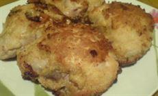 Необычный рецепт жареной курицы