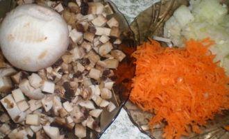Печеночные нежные блинчики с грибной начинкой