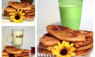 Пирожки тонкие на заварном тесте