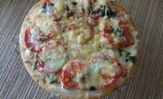 Пицца домашняя. вариант