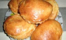 Пирожки с хурмой (мой вариант)