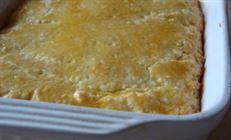 Нежный песочный пирог с творожно-яблочной начинкой