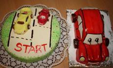 Торт машинка.вариант