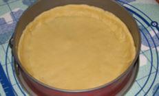 Песочный пирог с яблоками и чёрной смородиной