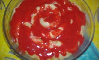 Блины с заварным кремом под ягодным соусом! (2 варианта подачи)