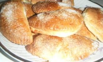 Сочни-пирожки с яблоками