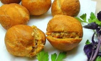 Жареные пирожки с тунцом. феткук. несостоявшаяся дуэль, агате и ларисе посвящается :)