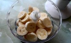 """Банановый десерт""""сладкая парочка"""""""