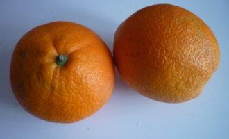 Десерт из апельсинов от ги жедда
