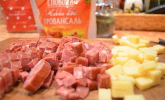Польский мясной кекс