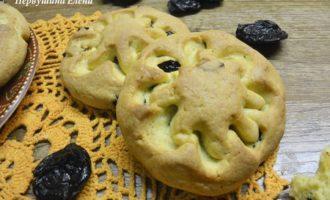 Имбирное печенье с черносливом