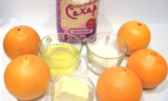 Суфле апельсиновое