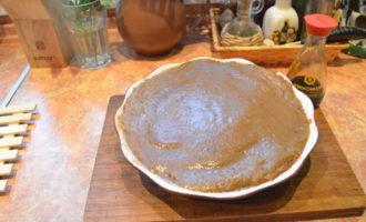 Треска с рисом басмасти под соусом из карамелизированого лука