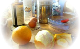 Апельсиновый десерт на двоих.