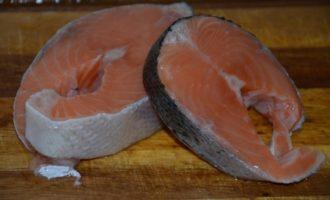 Крем-суп из лосося и апельсинов