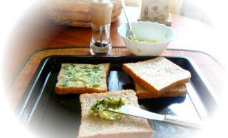 Чесночный хлеб(garlic bread).