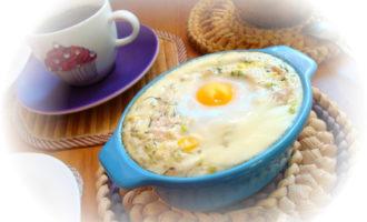 Суфле куринно-кабачковое. завтрак за 30 минут.