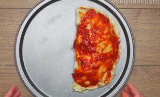 Кальцоне закрытая пицца - итальянский пирог