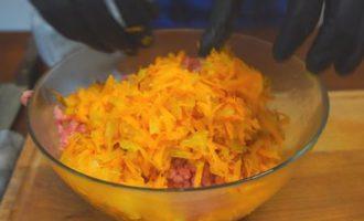 Биточки с картошкой и сыром