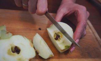 Говядина под фруктовым соусом