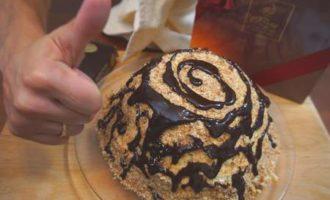 Торт - прянично-банановый